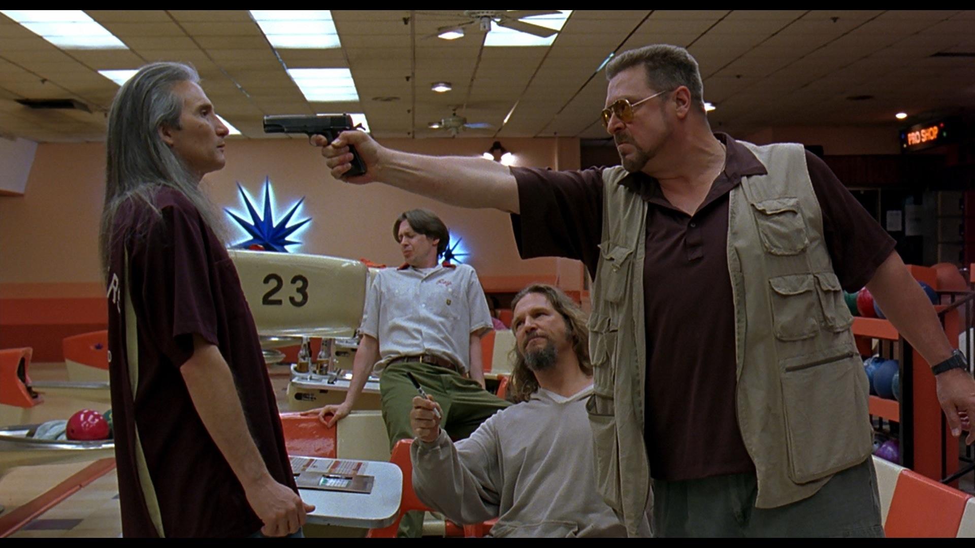 dude bowling