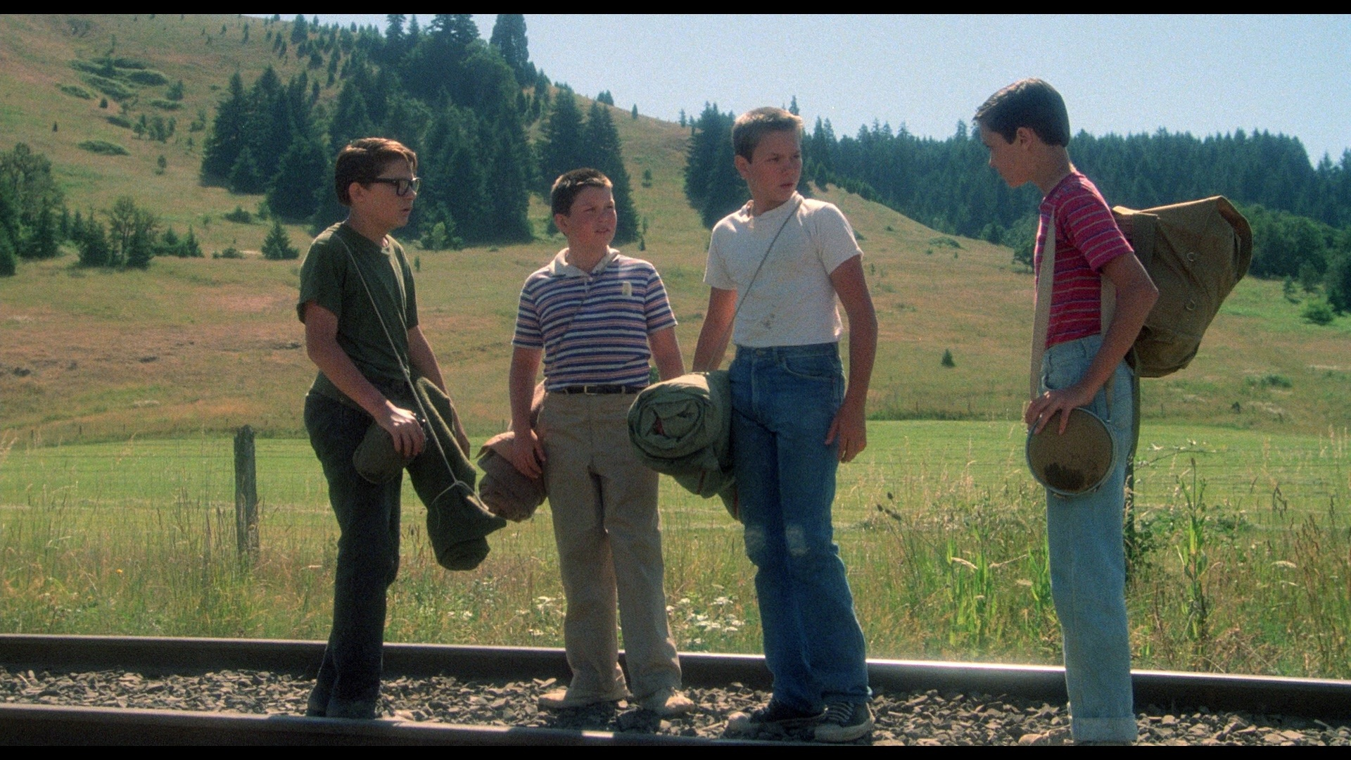 Movie review     rob reiners stand by me