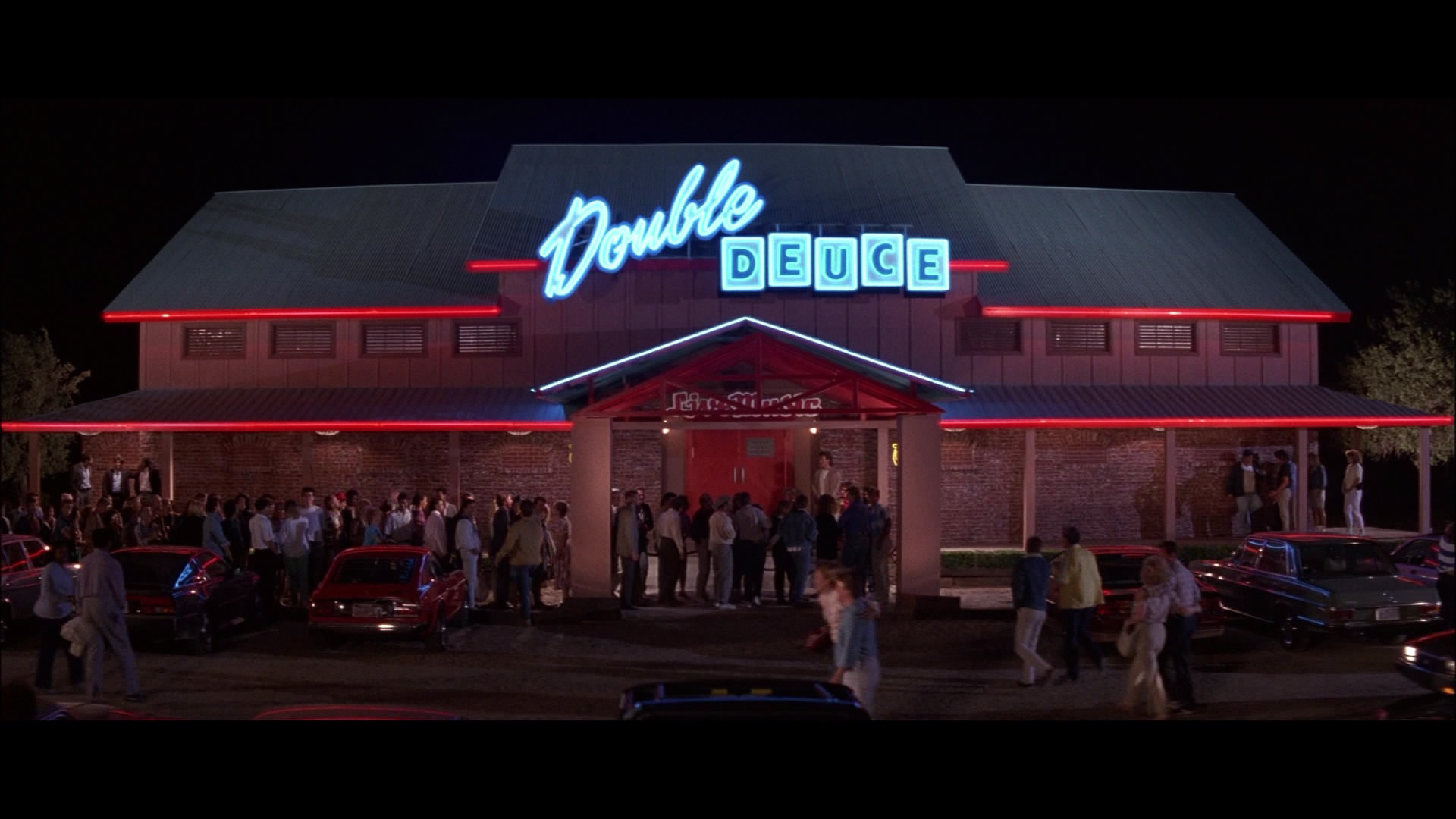 have a little club outside of Kansas City called the Double Deuce ...