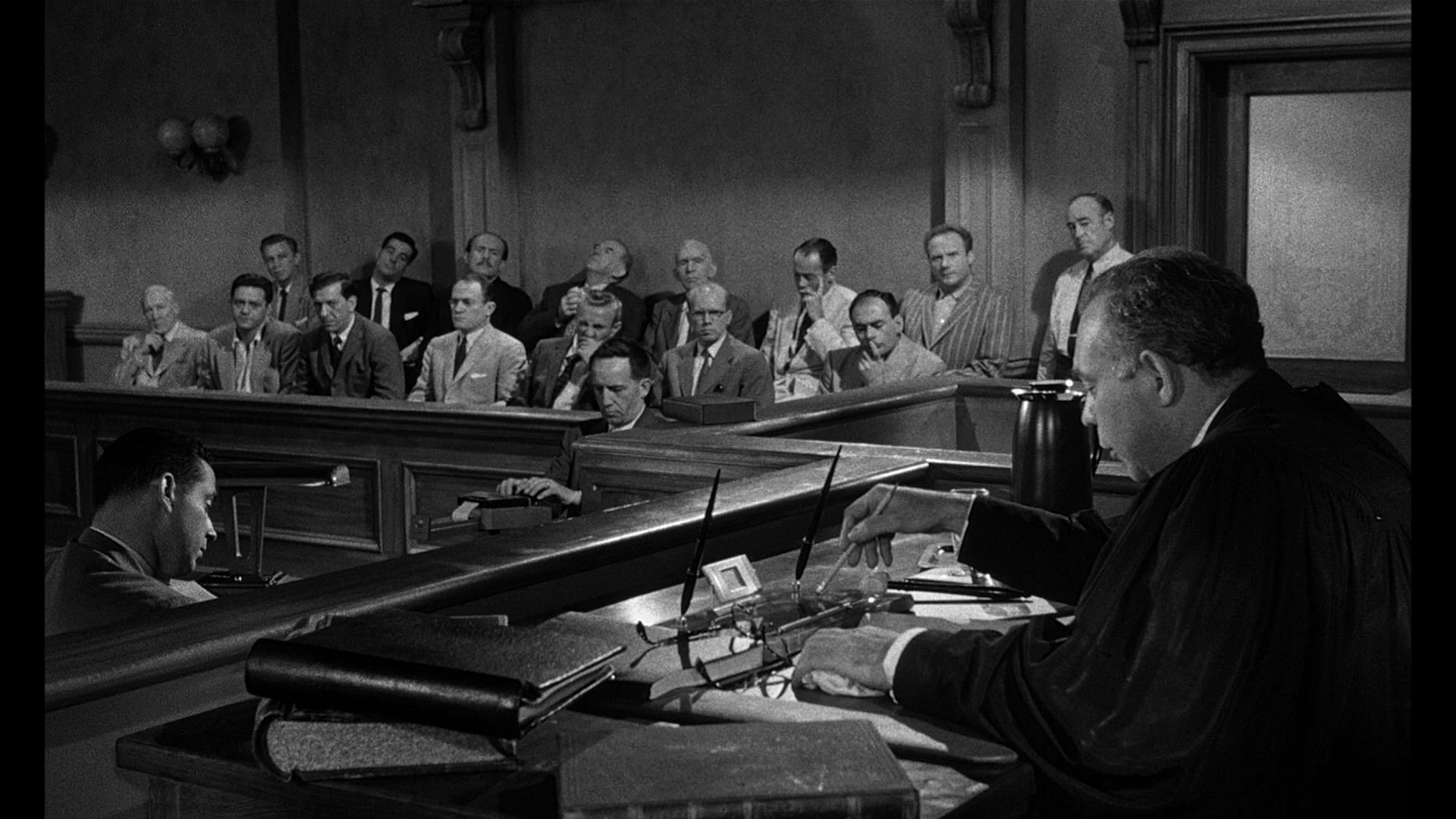 12 men in the jury This one i might get some objections to because the jury argument is the entire movie, but the fact of the matter is that this is a fantastic movie that is just one.