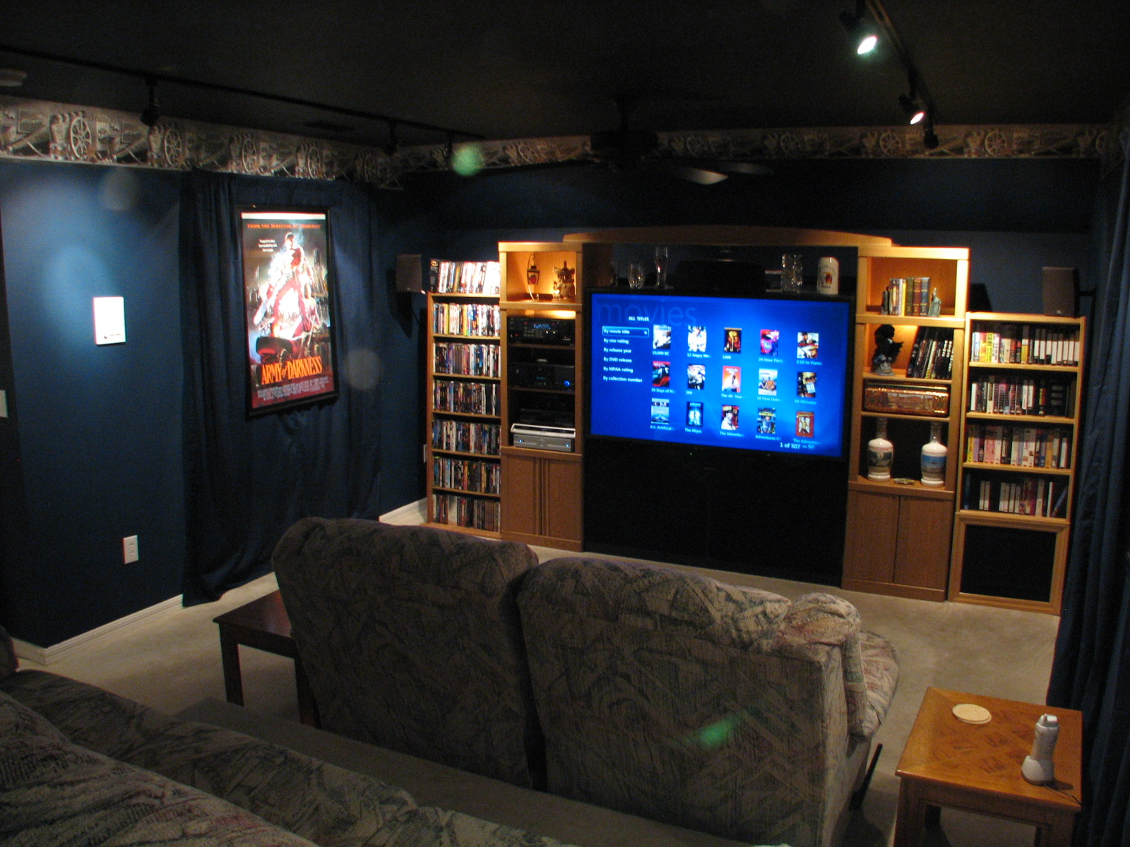 Small theatre room ideas joy studio design gallery for Small room movie theater