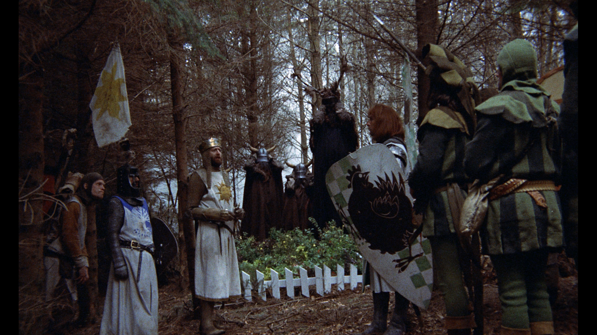 monty python and the holy grail satire essay The 20 best postmodernist movies of all time  monty python and the holy grail (1975) written and performed and directed by the comedy group monty python.