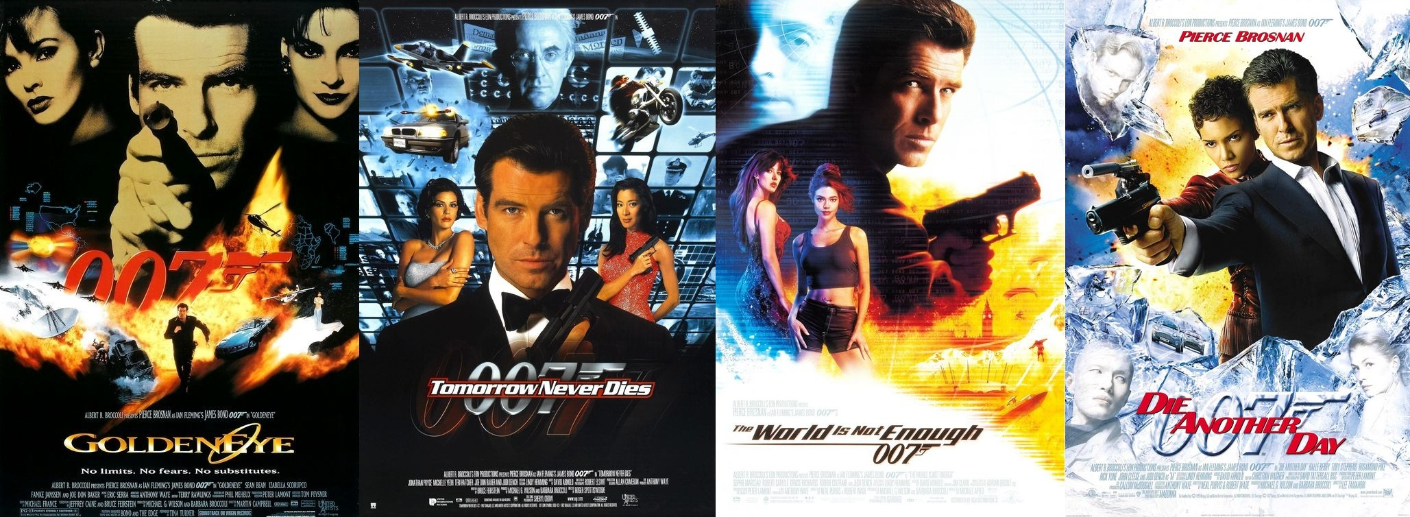 list james bond movies in order