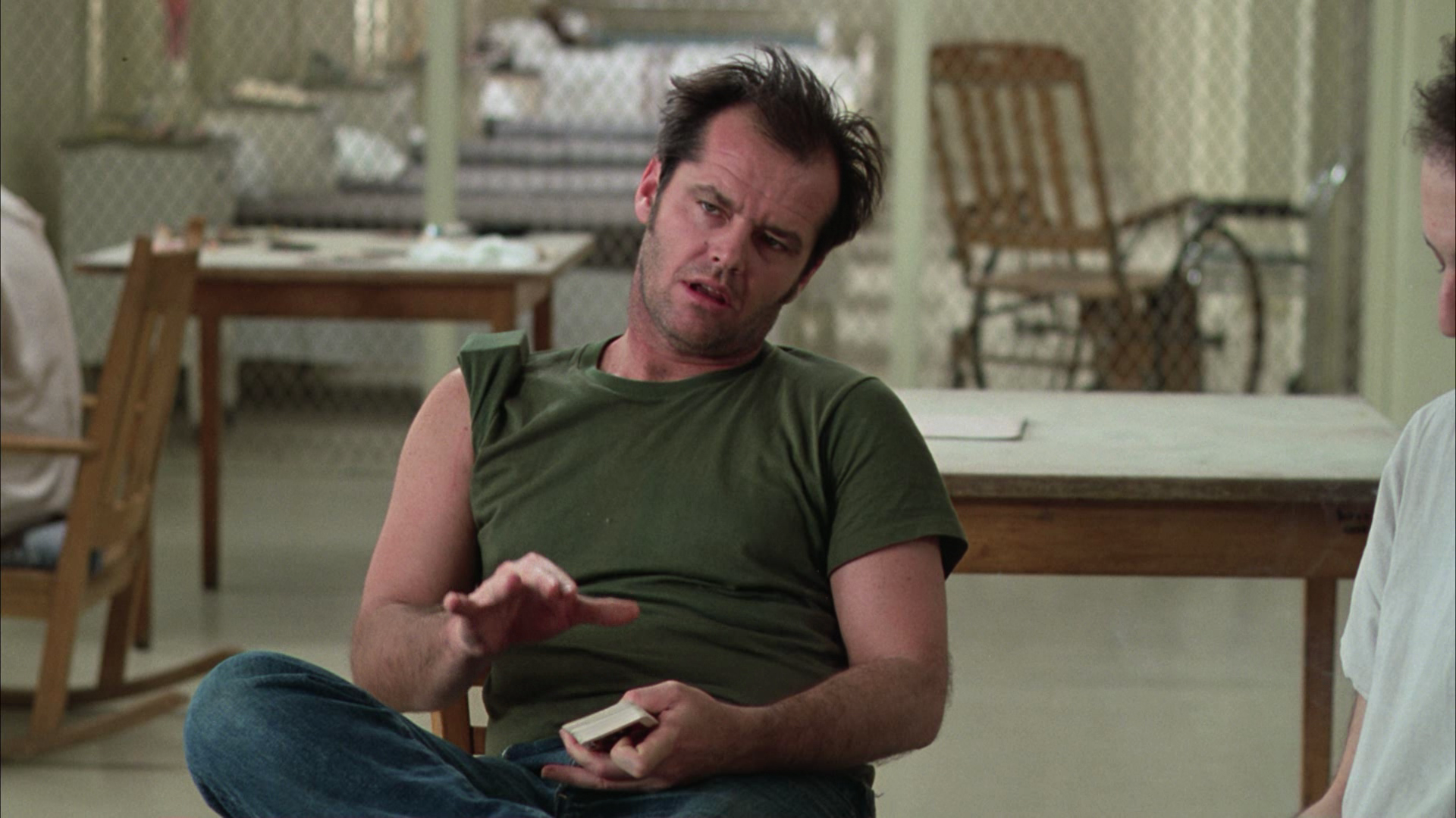 an analysis of character rp murphy in the story one flew over the cuckoos nest Why didn't mcmurphy escape with beyond the characters murphy's allegorical role is to provoke plot-explanation analysis one-flew-over-the-cuckoos-nest.