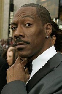 Best Supporting Actor nominee Eddie Murphy arrives at the 79th Annual Academy Awards in Hollywood