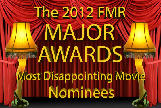 Most Disappointing Movie Nominees