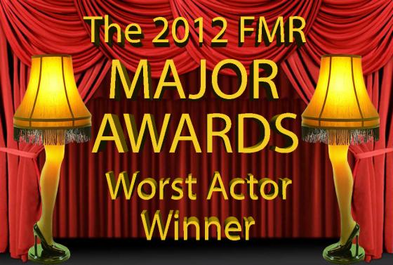 Worst Actor Winner