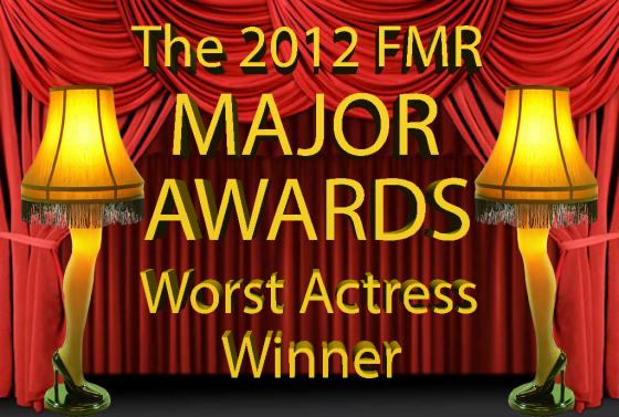 Worst Actress Winner