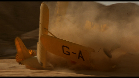 English Patient Plane Crash