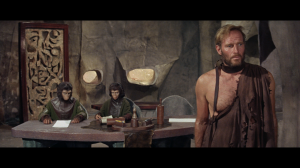 Planet of the Apes Taylor on trial Charlton Heston